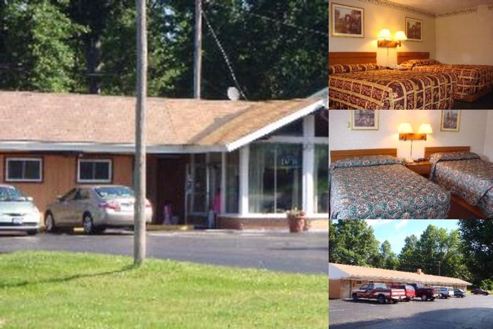Budget Lodge photo collage