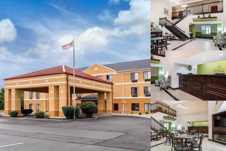 Quality Inn & Suites Anderson photo collage