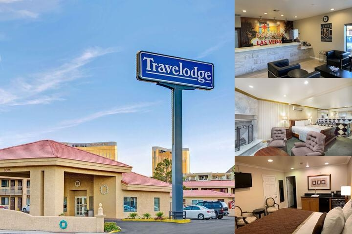 Travelodge Las Vegas Airport North / Near The Stri photo collage