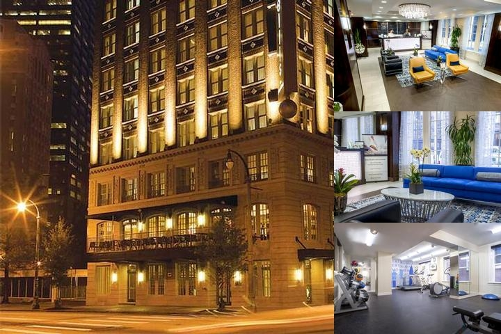 The Ellis Hotel photo collage