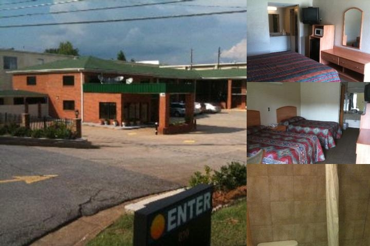 Budget Inn photo collage