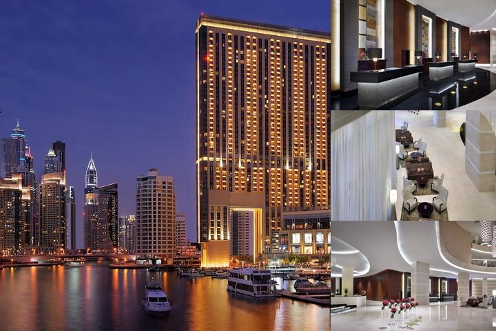The Address Dubai Marina photo collage