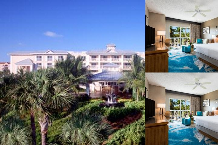 The Doubletree Grand Key Resort photo collage