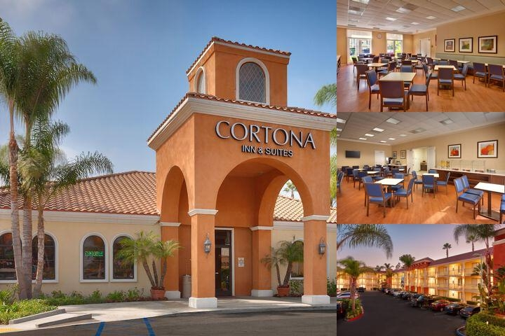 Cortona Inn & Suites Anaheim Resort photo collage