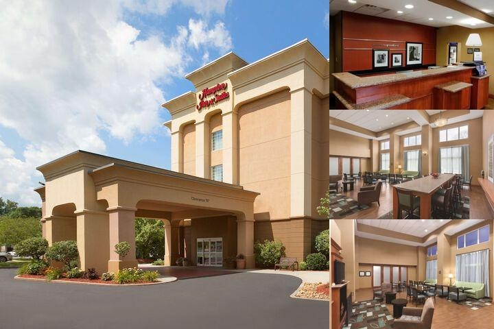 Hampton Inn & Suites Greenfield photo collage
