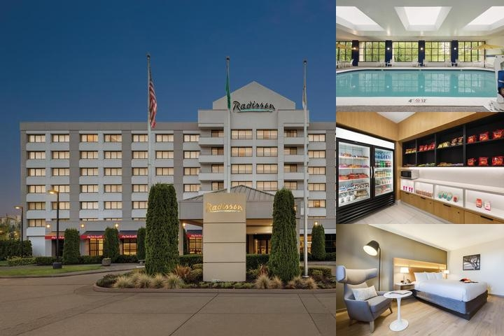 Radisson Hotel Seattle Tacoma Airport photo collage