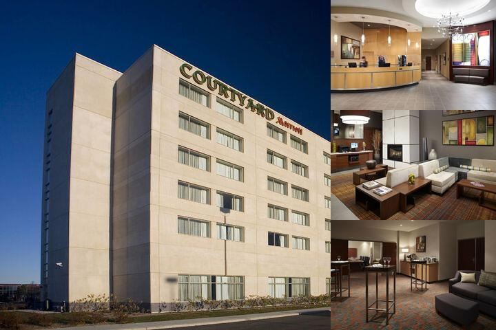 Marriott Courtyard Montreal Airport photo collage