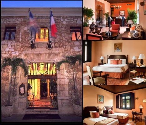 Hotel Frances Santo Domingo Mgallery Collection photo collage