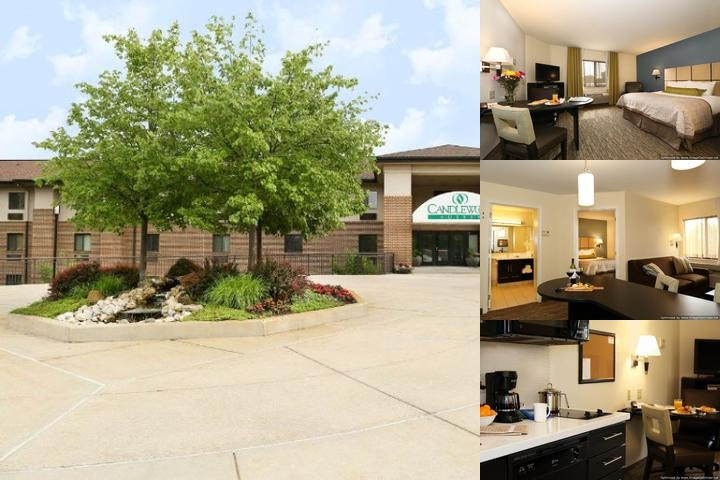 Candlewood Suites Hotel Lansing photo collage