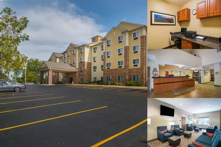 Comfort Suites Grayslake photo collage