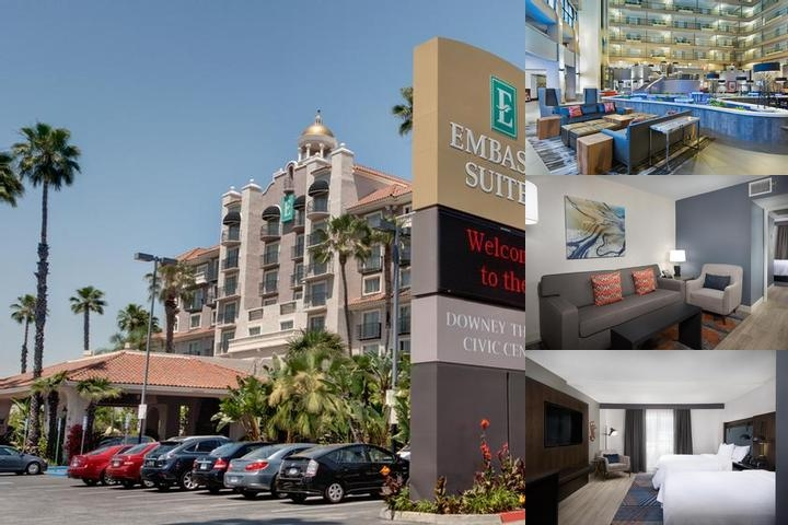 Embassy Suites Los Angeles Downey photo collage