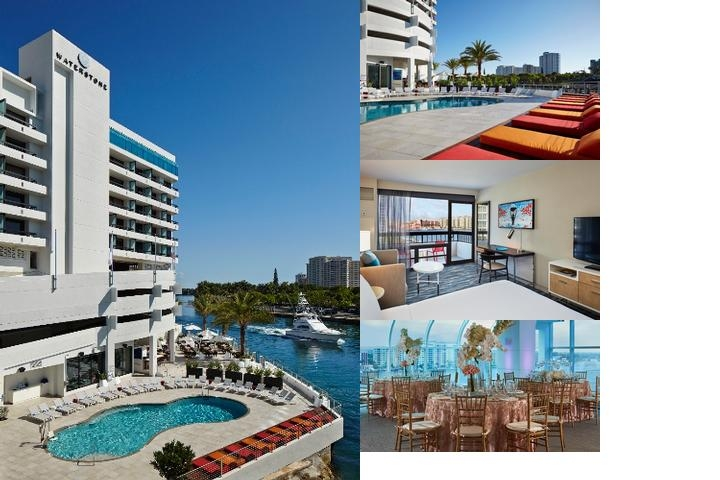 Waterstone Resort & Marina Boca Raton a Doubletree photo collage