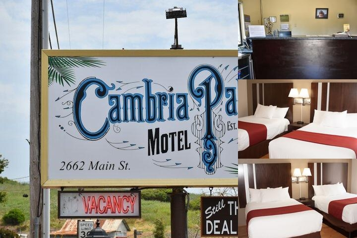 Cambria Palms Motel photo collage