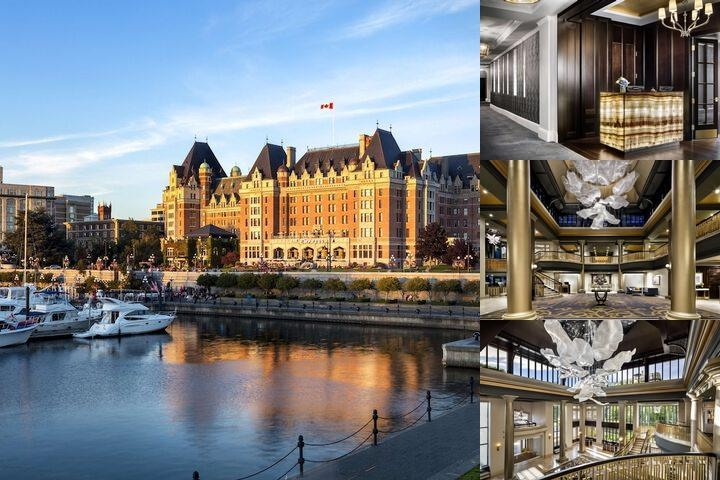 Fairmont Empress photo collage