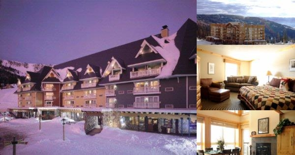 Schweitzer Mountain Resort Selkirk Lodge photo collage