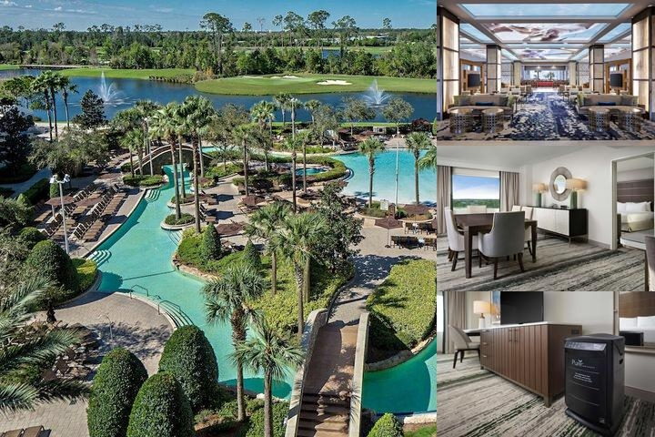 Hilton Orlando Bonnet Creek photo collage