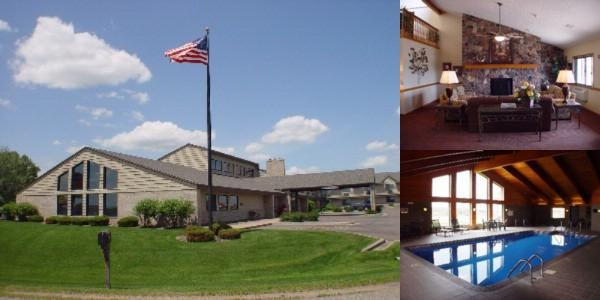 Americinn Eau Claire photo collage