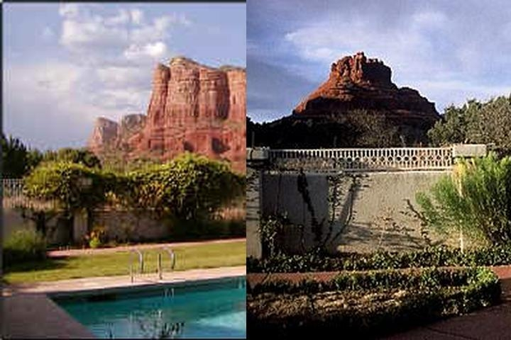 Canyon Villa Bed & Breakfast Inn of Sedona photo collage