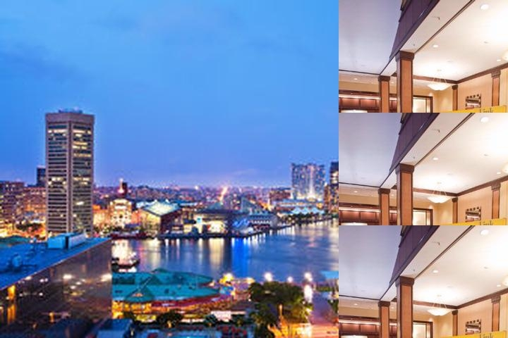 Sheraton Inner Harbor photo collage