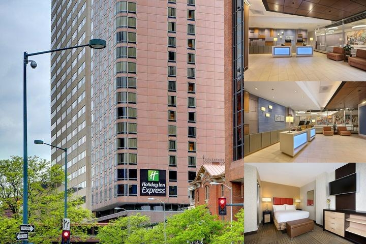 Holiday Inn Express Denver Downtown photo collage