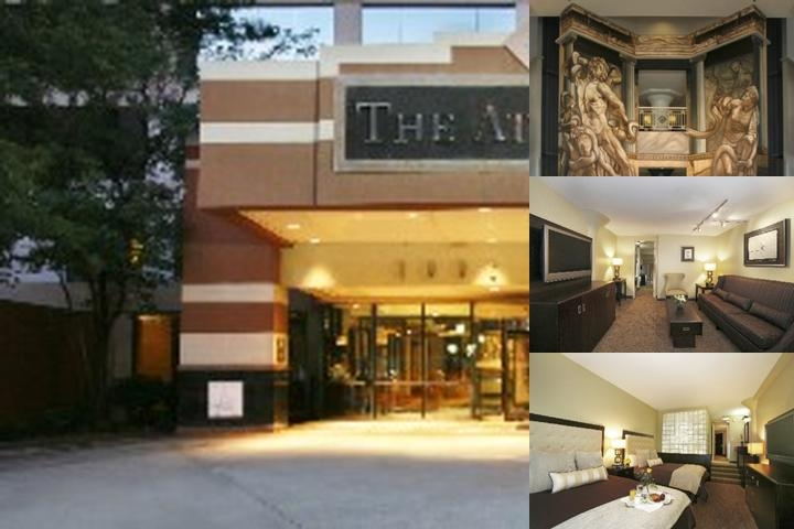 Atheneum Suite Hotel photo collage