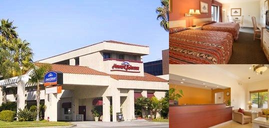 Howard Johnson Torrance photo collage