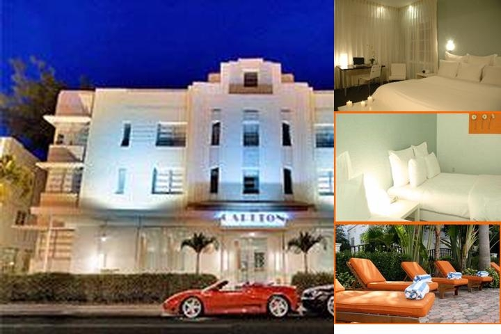 Carlton Hotel photo collage