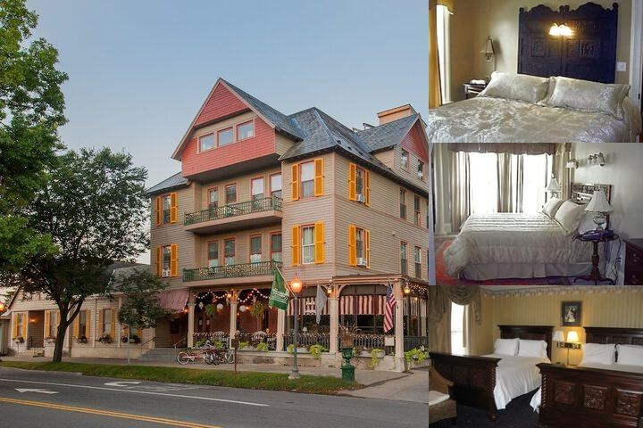 The Inn at Saratoga photo collage