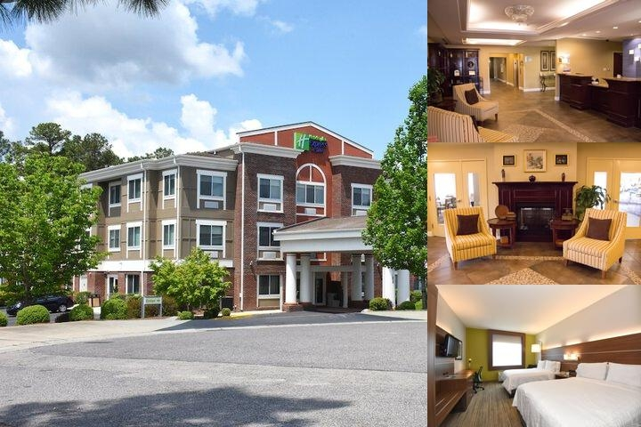 Holiday Inn Express Hotels Suites Southern Pines Nc 155 Partner Circle 28387