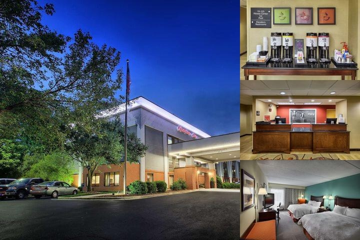 Hampton Inn Garner photo collage