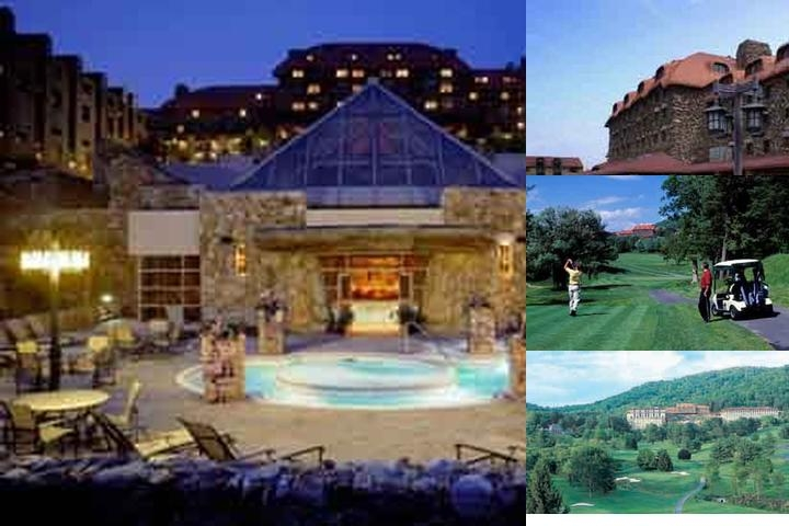 The Omni Grove Park Inn photo collage
