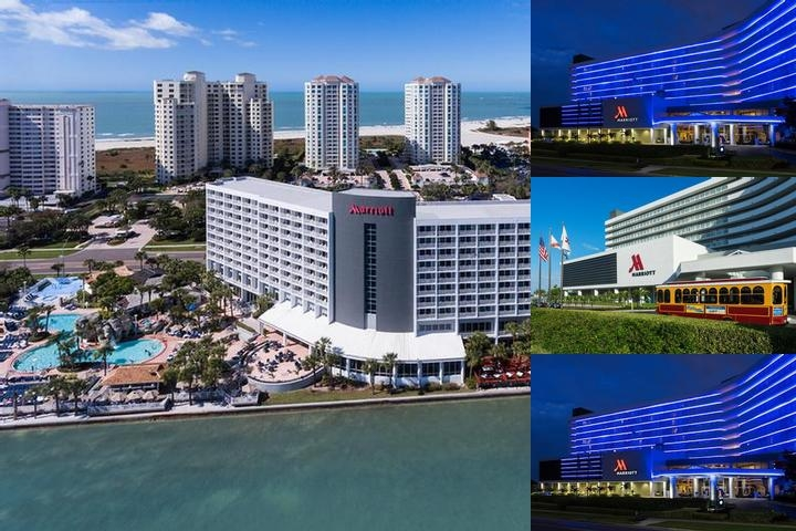 Clearwater Beach Marriott Suites on Sand Key photo collage