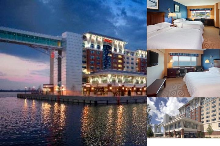 Sheraton Erie Bayfront Hotel photo collage