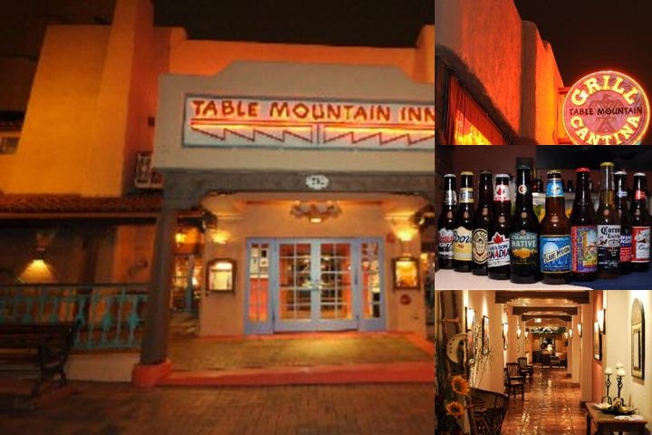Table Mountain Inn photo collage