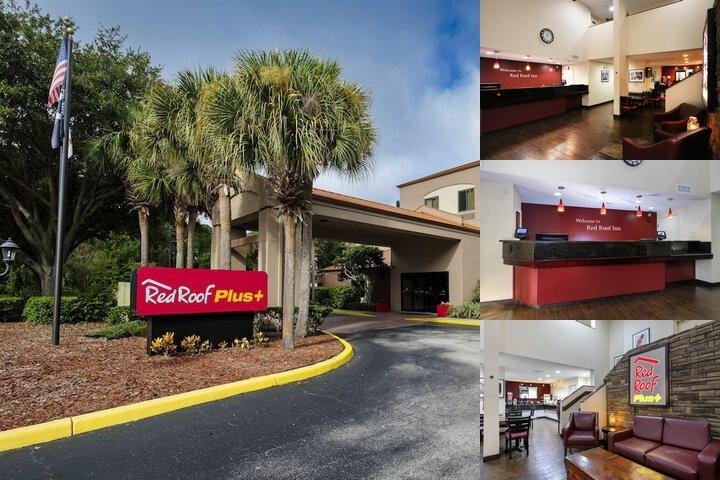 Red Roof Plus+ Palm Coast photo collage