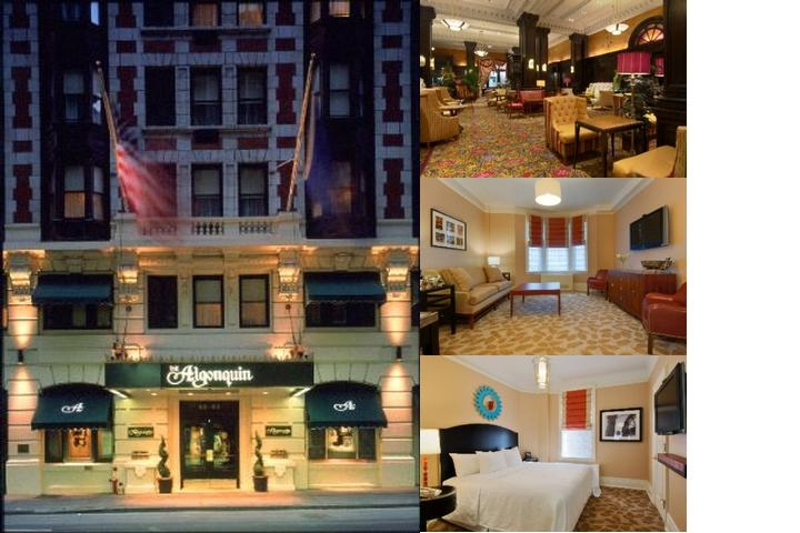 Algonquin Hotel Autograph Collection photo collage