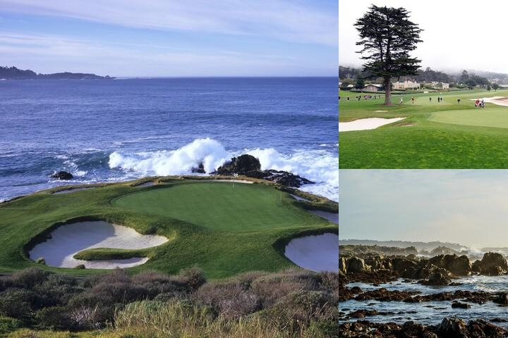 The Lodge at Pebble Beach photo collage