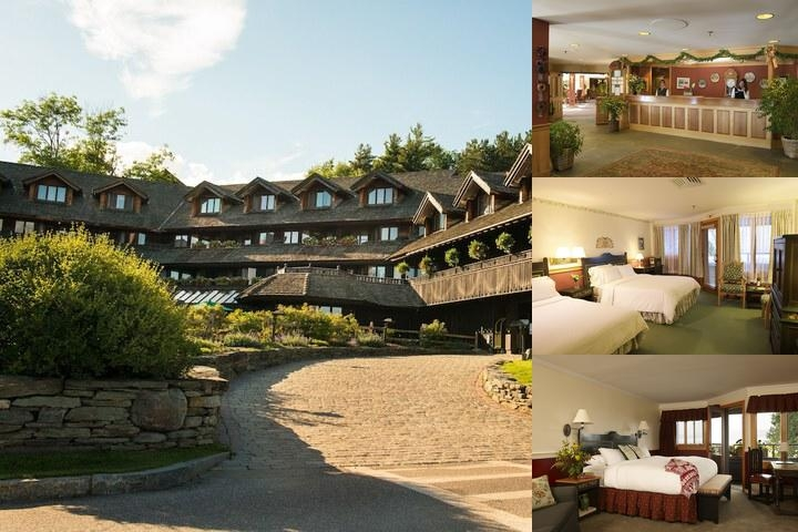 Trapp Family Lodge photo collage