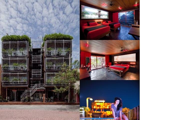 Reina Roja Hotel photo collage