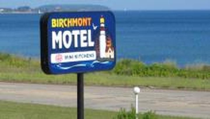 Birchmont Motel photo collage