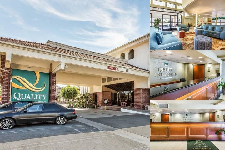 Quality Inn & Suites Irvine Spectrum photo collage