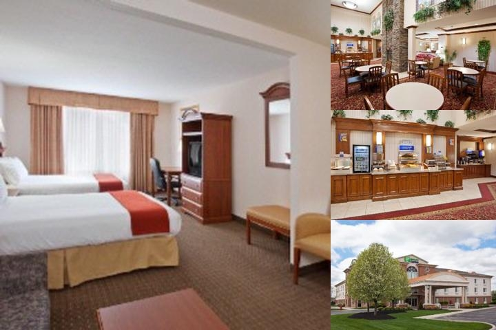 Holiday Inn Express Hotel & Suites Marion Oh photo collage