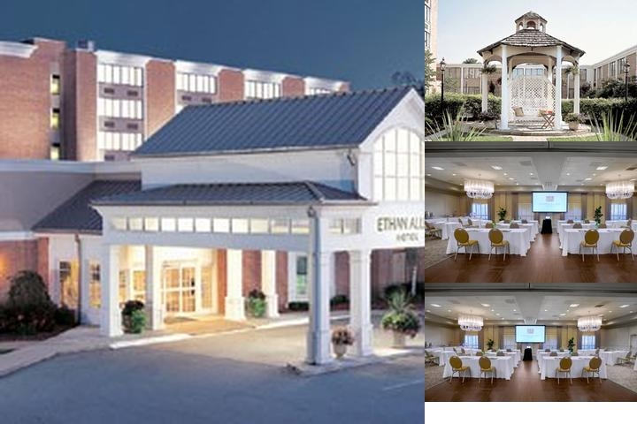 Ethan Allen Hotel photo collage