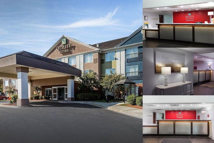 Quality Suites Pineville at Carolina Place Mall photo collage