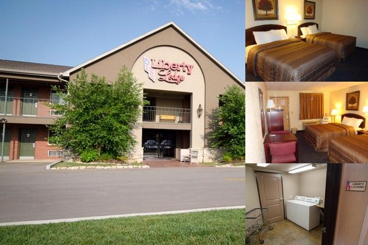 Liberty Lodge photo collage