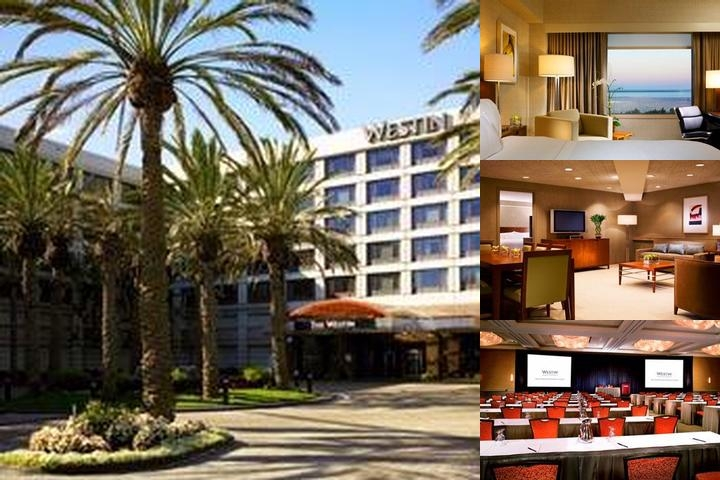 Westin San Francisco Airport photo collage