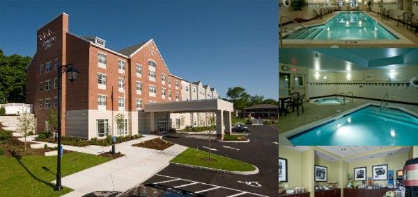 Hampton Inn Bath Brunswick Area photo collage