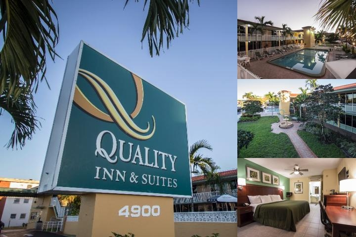 Quality Inn & Suites Hollywood Boulevard photo collage