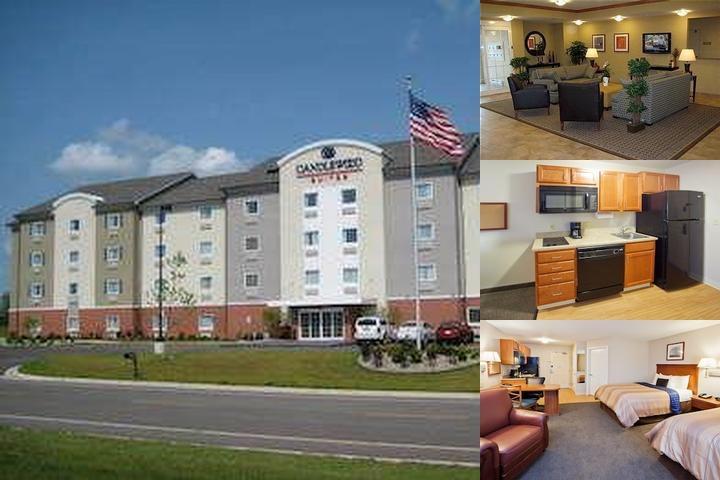 Candlewood Suites 174 Kalamazoo Mi 3443 Retail Place 49048