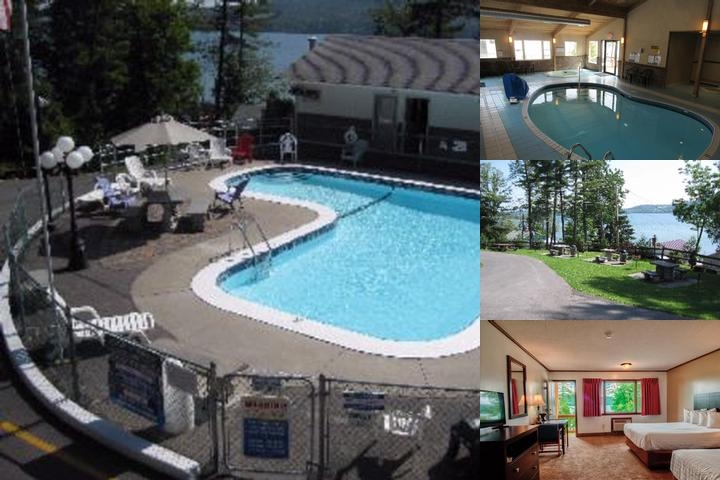 Lake 'n Pines Motel photo collage